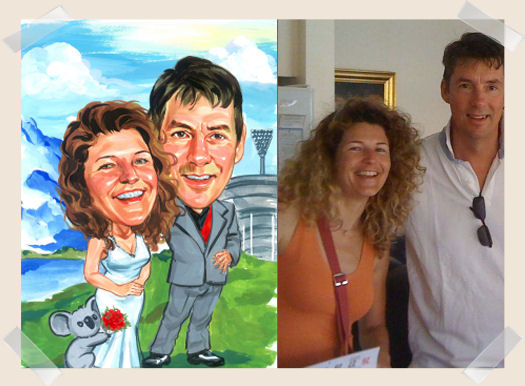 race-goers-caricature