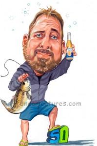 50th birthday fisherman