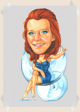 birthday-girl-caricature