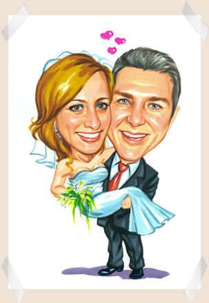 man_holding_bride-caricature